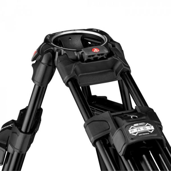 Manfrotto Nitrotech 608/645 Fast kit trepied video cu eliberare rapida 9