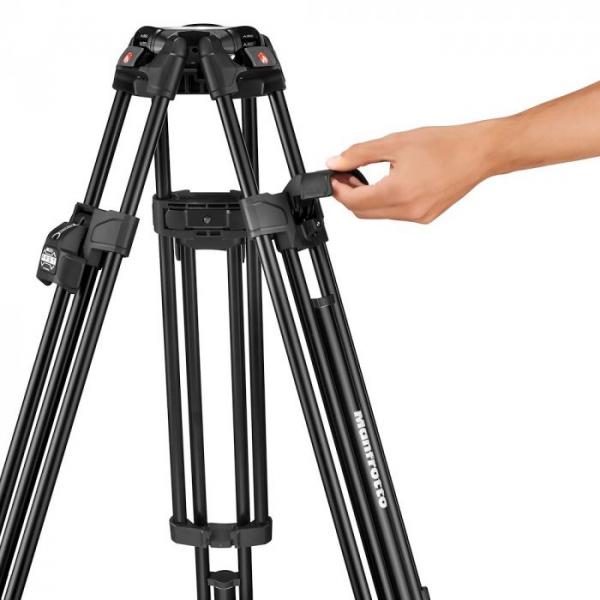 Manfrotto Nitrotech 608/645 Fast kit trepied video cu eliberare rapida 10