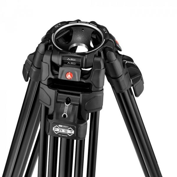 Manfrotto Nitrotech 608/645 Fast kit trepied video cu eliberare rapida 4