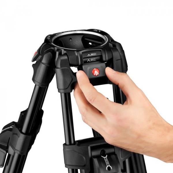 Manfrotto Nitrotech 608/645 Fast kit trepied video cu eliberare rapida 5