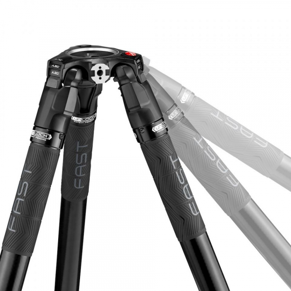 Manfrotto Nitrotech 612/ 635 Trepied video Fast Single Carbon [2]