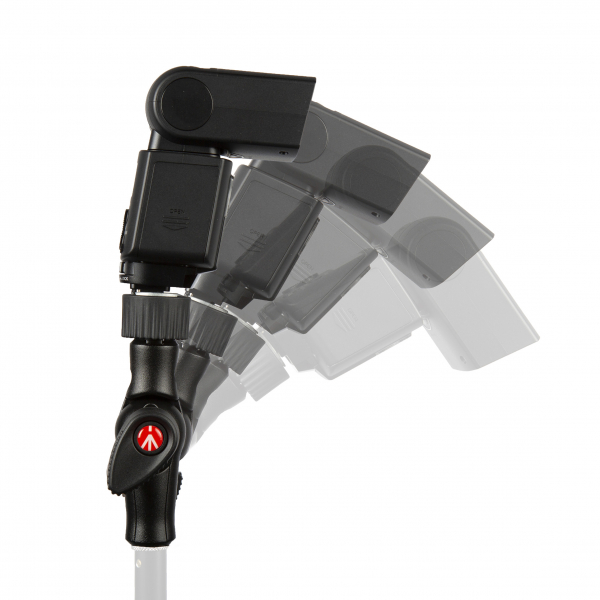 Manfrotto Smart Tilt suport umbrela cu patina pentru blitz 3