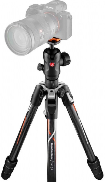 Manfrotto Befree GT Alfa Trepied foto carbon 0