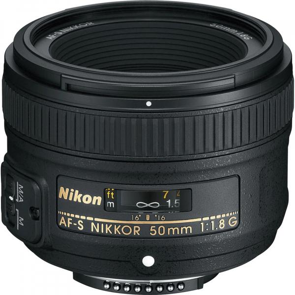 Nikon 50mm f/1.8G Obiectiv AF-S NIKKOR 0