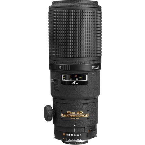Nikon AF Micro NIKKOR Obiectiv Foto DSLR 200mm f/4D IF-ED 2