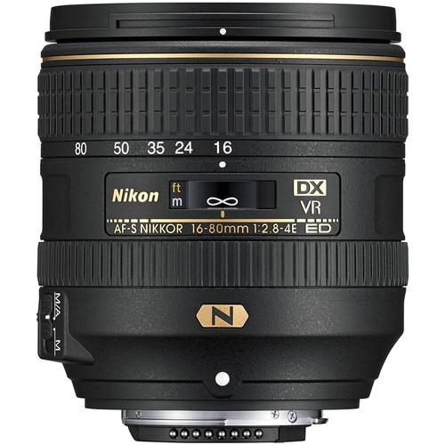 Nikon AF-S DX NIKKOR 16-80mm Obiectiv Foto DSLR f/2.8-4E ED VR 2
