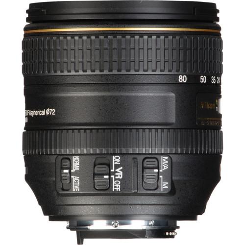 Nikon AF-S DX NIKKOR 16-80mm Obiectiv Foto DSLR f/2.8-4E ED VR 4