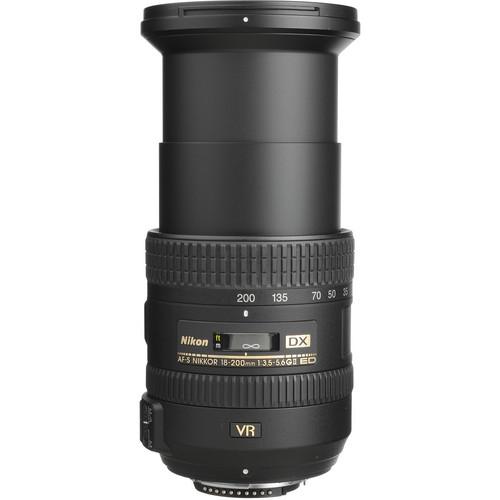 Nikon AF-S DX NIKKOR 18-200mm Obiectiv Foto DSLR f/3.5-5.6G ED VR II 3