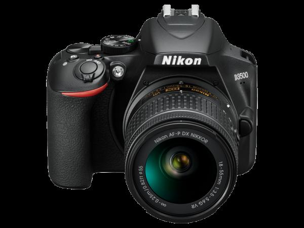 Nikon D3500 Aparat Foto DSLR DX Kit Obiectiv Nikkor AF-P 18-55mm VR 9