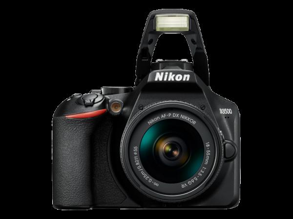 Nikon D3500 Aparat Foto DSLR DX Kit Obiectiv Nikkor AF-P 18-55mm VR 4