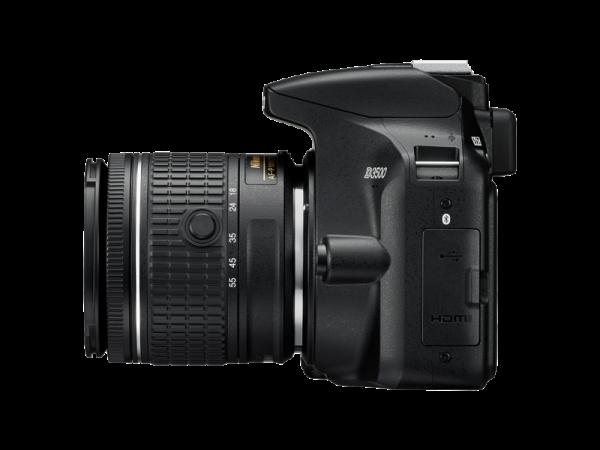 Nikon D3500 Aparat Foto DSLR DX Kit Obiectiv Nikkor AF-P 18-55mm VR 5