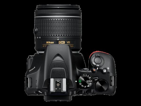 Nikon D3500 Aparat Foto DSLR DX Kit Obiectiv Nikkor AF-P 18-55mm VR 2