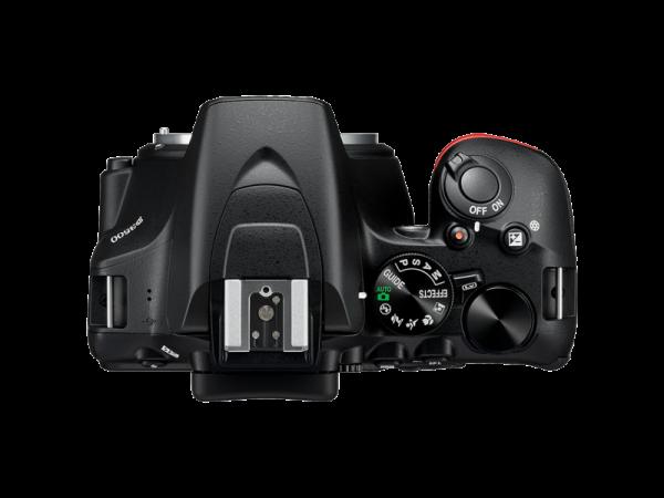 Nikon D3500 Aparat Foto DSLR DX Kit Obiectiv Nikkor AF-P 18-55mm VR 3