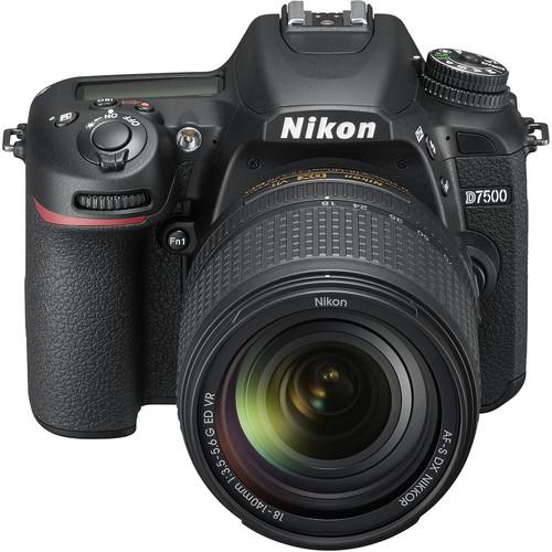 Nikon D7500 Aparat Foto DSLR DX Kit Obiectiv Nikkor 18-140mm f3.5-5.6 G ED VR [1]