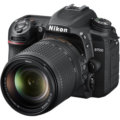 Nikon D7500 Aparat Foto DSLR DX Kit Obiectiv Nikkor 18-140mm f3.5-5.6 G ED VR [4]