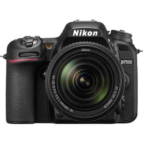 Nikon D7500 Aparat Foto DSLR DX Kit Obiectiv Nikkor 18-140mm f3.5-5.6 G ED VR [0]