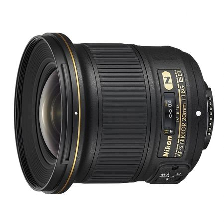 Nikon AF-S NIKKOR 20mm Obiectiv Foto DSLR f/1.8G ED 1