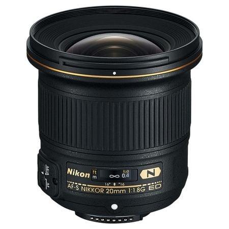 Nikon AF-S NIKKOR 20mm Obiectiv Foto DSLR f/1.8G ED 0