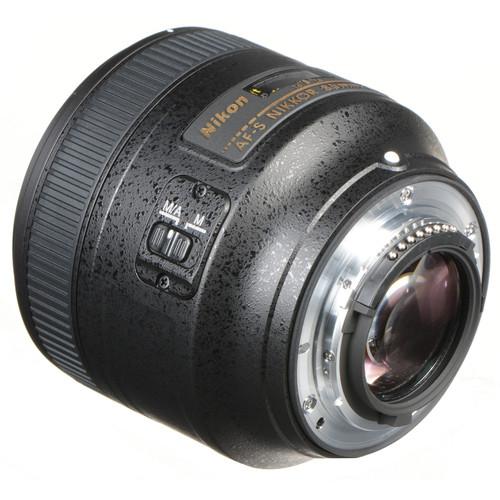 Nikon AF-S NIKKOR 85mm Obiectiv Foto DSLR f/1.8G [2]