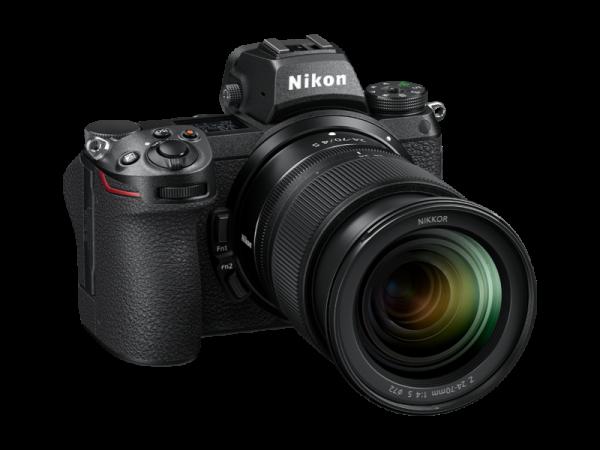 Nikon Z 6II Aparat Foto Mirrorless 24.5MP Kit cu Obiectiv 24-70mm F4 si Adaptor FTZ [3]