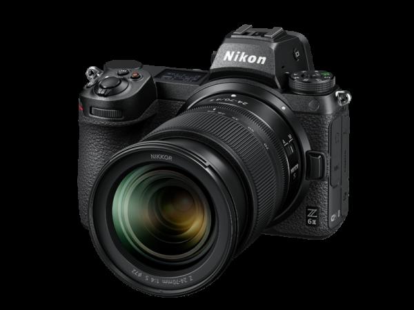 Nikon Z 6II Aparat Foto Mirrorless 24.5MP Kit cu Obiectiv 24-70mm F4 si Adaptor FTZ [7]