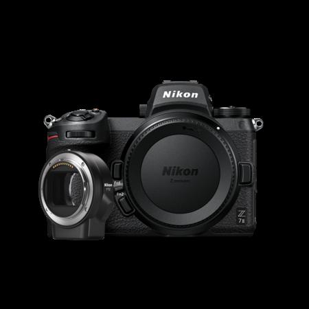 Nikon Z 7II Aparat Foto Mirrorless 45.7MP Video 4K Wi-Fi Body cu FTZ 0