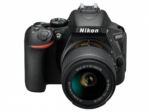 Nikon D5600 Aparat Foto DSLR DX 24.2MP Kit Obiectiv Nikkor AF-P 18-55mm VR 1