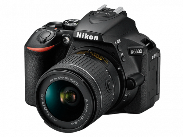 Nikon D5600 Aparat Foto DSLR DX 24.2MP Kit Obiectiv Nikkor AF-P 18-55mm VR 5