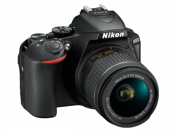 Nikon D5600 Aparat Foto DSLR DX 24.2MP Kit Obiectiv Nikkor AF-P 18-55mm VR 2