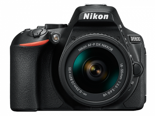Nikon D5600 Aparat Foto DSLR DX 24.2MP Kit Obiectiv Nikkor AF-P 18-55mm VR 0