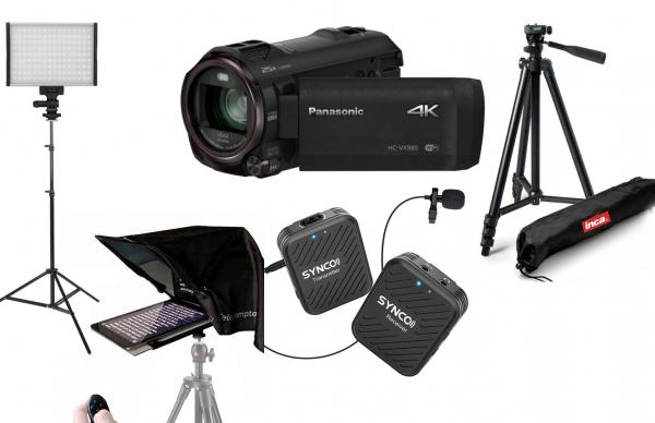 Kit Creator continut filmare 4K cu teleprompter 0