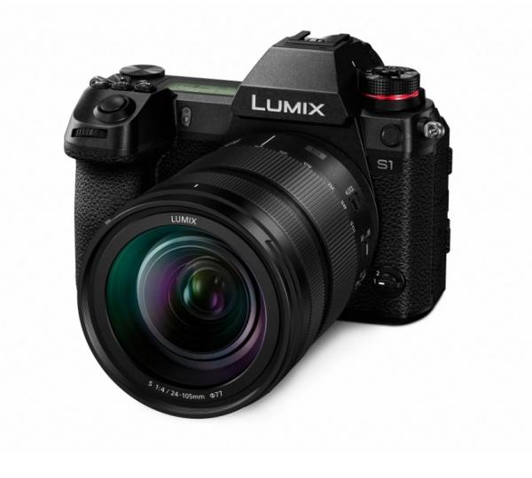 Panasonic Kit Aparat Foto Lumix S1 24MP cu Obiectiv 24-105mm F4 2