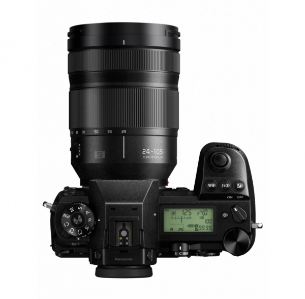 Panasonic Kit Aparat Foto Lumix S1 24MP cu Obiectiv 24-105mm F4 1