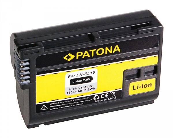 Patona Acumulator Replace Li-Ion pentru Nikon EN-EL15 1600mAh 7V [1]