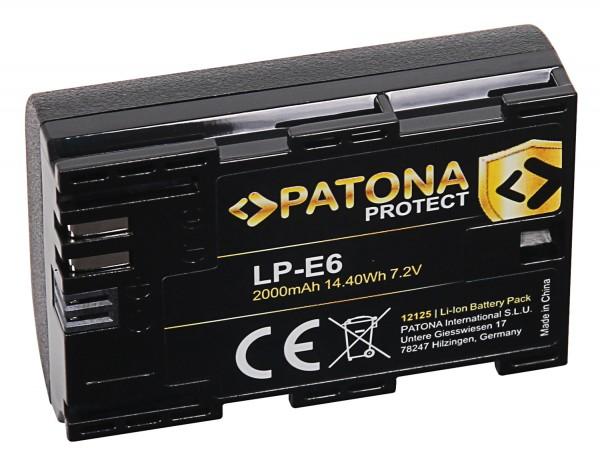 Patona Protect LP-E6 acumulator pentru Canon, Blackmagic [1]