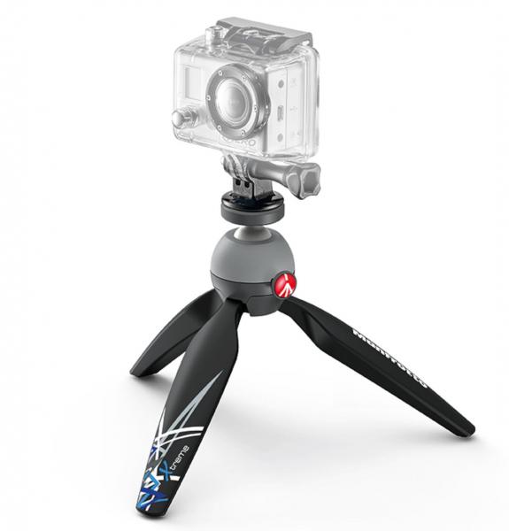 Manfrotto Pixi Xtreme Minitrepied cu prindere GoPro 1