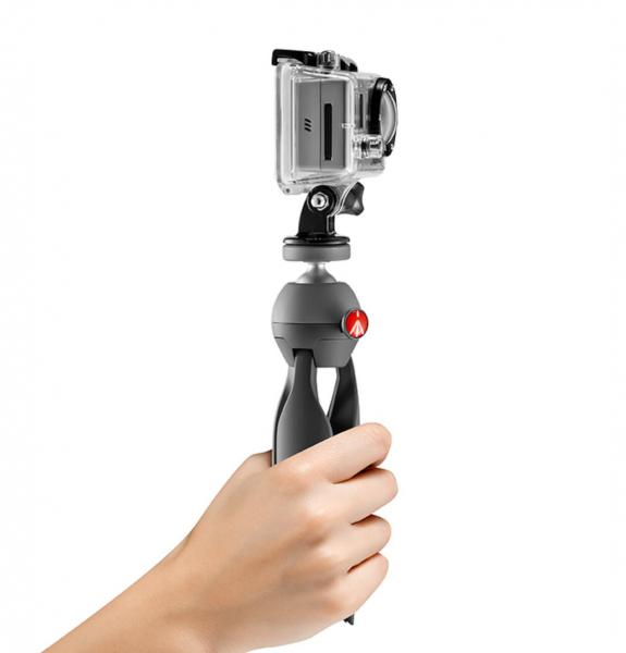 Manfrotto Pixi Xtreme Minitrepied cu prindere GoPro 3