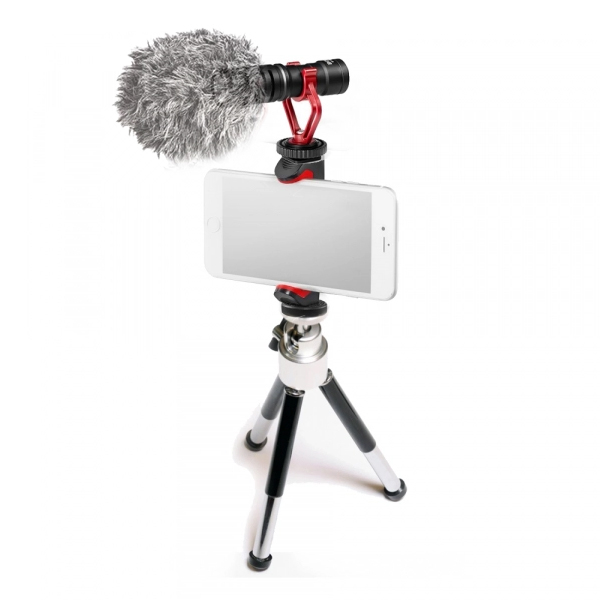 Primaphoto Kit trepied cu microfon si prindere pentru Vlogging 0
