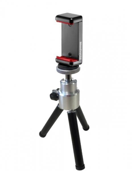 Primaphoto suport smartphone cu minitrepied pentru vlogging 2