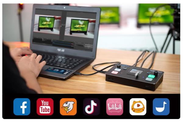 RGBlink Mini Mixer video cu vizualizare multi-view [7]