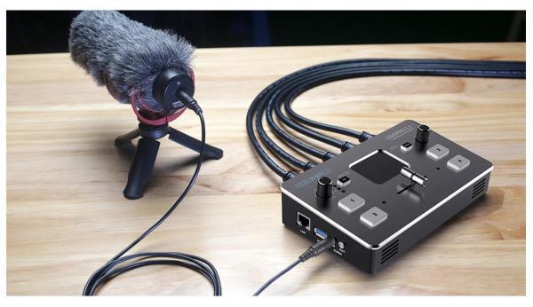 RGBlink Mini Mixer video cu vizualizare multi-view [6]