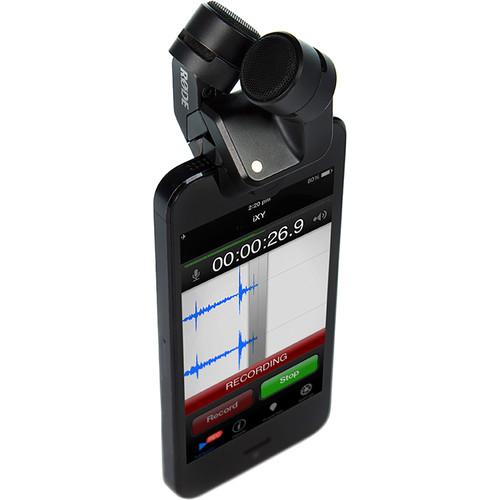 Rode microfon I-XY microfon pentru iPhone 3