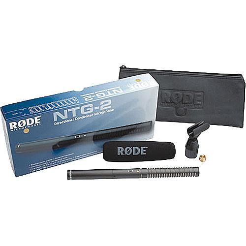 Rode Microfon NTG2 - shotgun 3