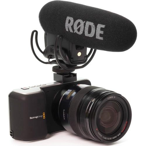 Rode Videomic Pro R microfon cu sistem de suspensie Rycote Lyre 3