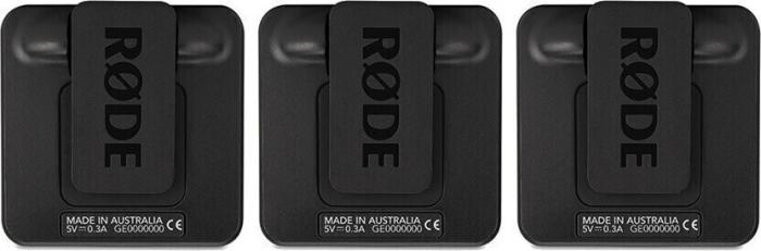 Rode Wireless GO II Sistem Microfon Wireless Dual Digital Kit cu 2 Transmitatoare [3]