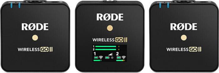 Rode Wireless GO II Sistem Microfon Wireless Dual Digital Kit cu 2 Transmitatoare [1]