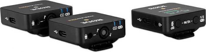 Rode Wireless GO II Sistem Microfon Wireless Dual Digital Kit cu 2 Transmitatoare [2]