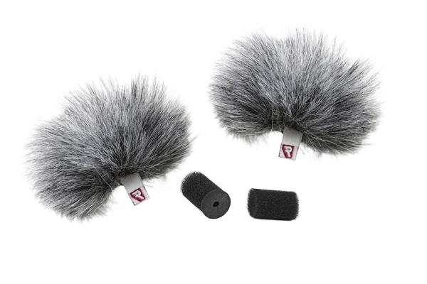 Pachet Boya BY-WM4 Pro-K2 Microfon tip Lavaliera Wireless Dubla+Rycote protectie vant pentru lavaliera dubla [1]