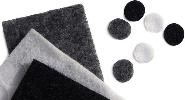 Rycote sticker undercover lavaliera negru gri alb [1]