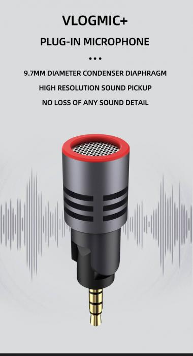 SabineTek Addon microfon smartphone 2